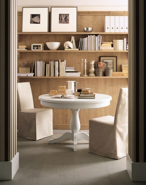 Wooden kitchen with island nuovo mondo n01 by scandola mobili for Scandola mobili
