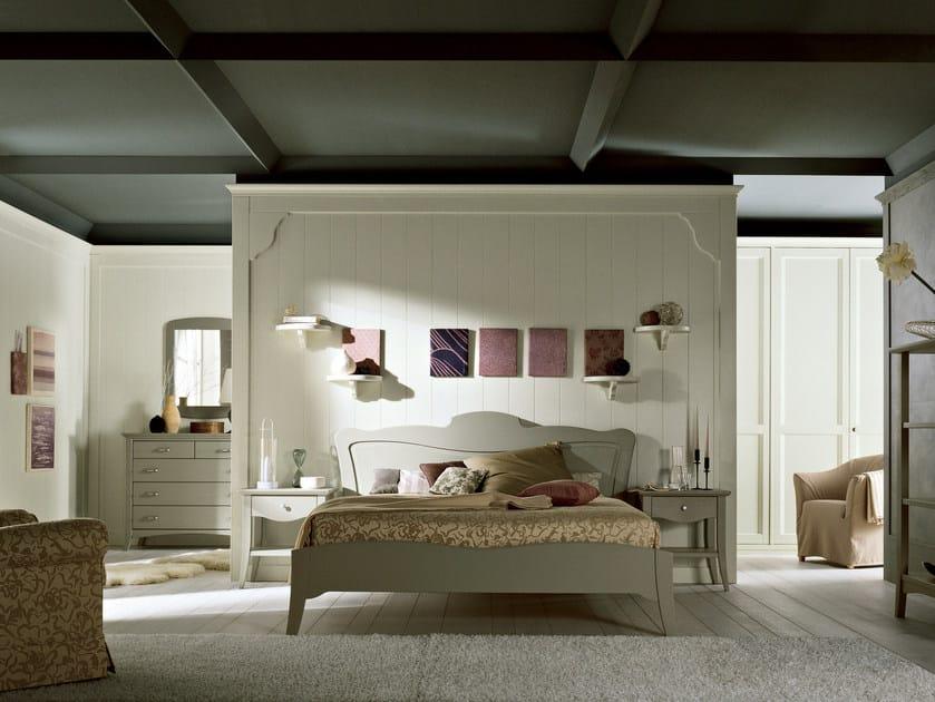 Spruce bedroom set NUOVO MONDO N04 by Scandola Mobili