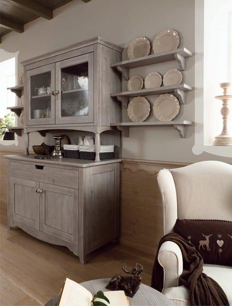 Cucina in stile rustico tabi t04 by scandola mobili - Cucina stile rustico ...