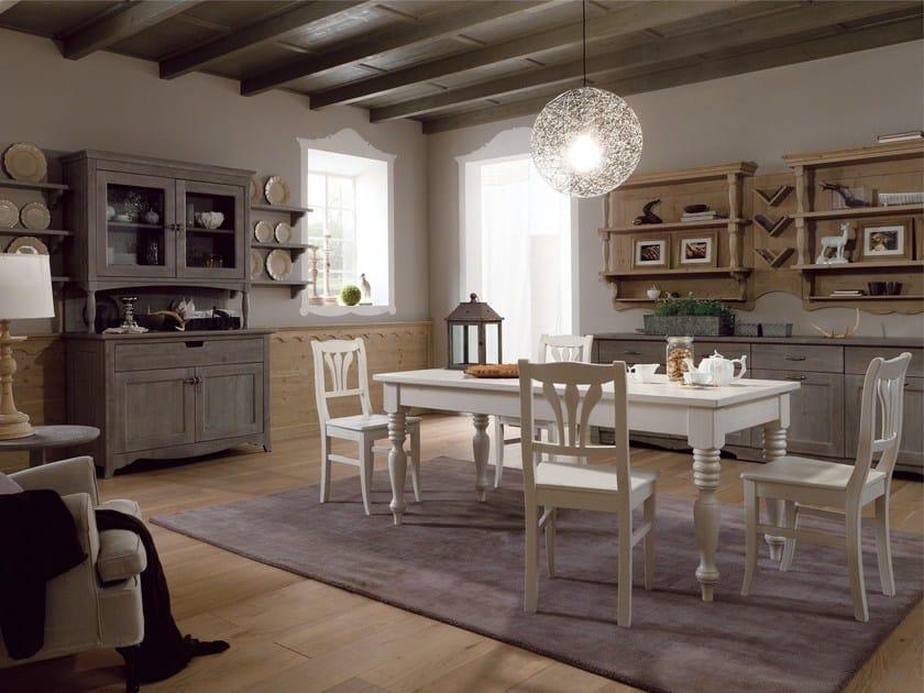 Cucina in stile rustico TABIÀ T04 By Scandola Mobili