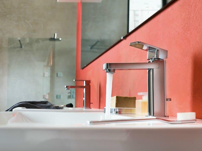 Chrome-plated single handle 1 hole washbasin mixer LOOP | Washbasin mixer by Nobili Rubinetterie
