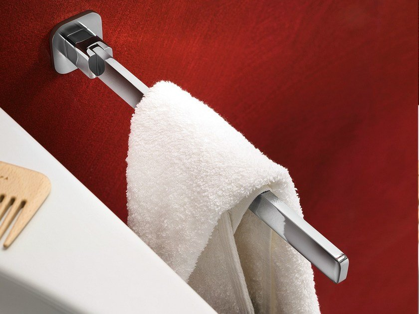 Porta salviette a sbalzo fisso loop porta asciugamani - Nobili rubinetterie bagno ...