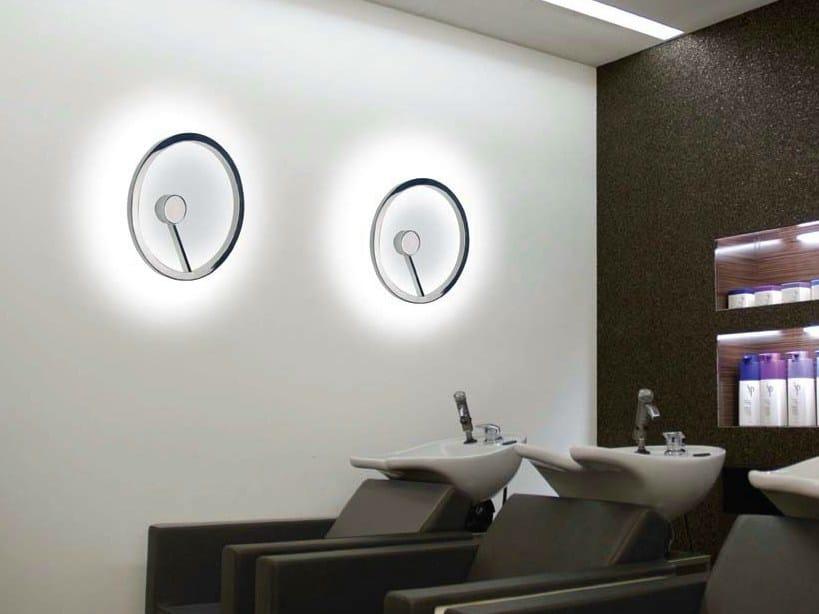 LED aluminium wall lamp CIRCOLO INSOSPESO | Wall lamp by Sattler