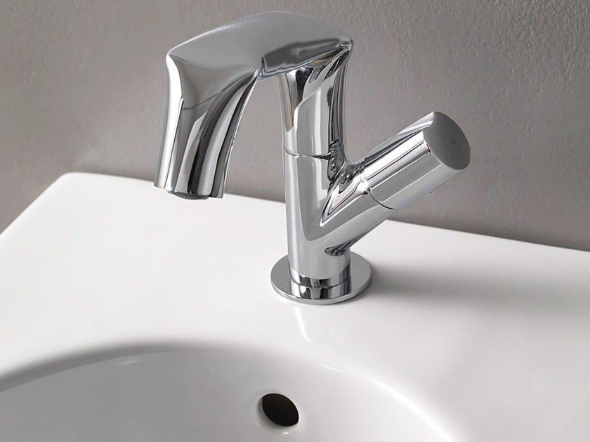 Chrome-plated single handle 1 hole metal bidet tap FOLD   1 hole bidet tap by CERAMICA FLAMINIA