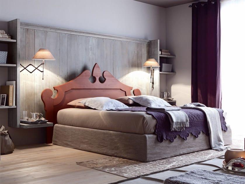 Wooden bedroom set NUOVO MONDO N06 by Scandola Mobili