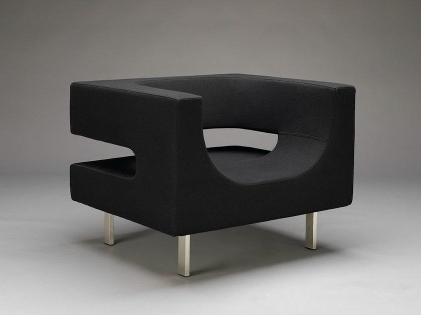 Club armchair with armrests SSS! | Armchair by mminterier
