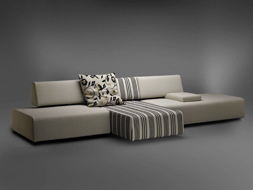 Sectional sofa SYSTEMI by mminterier