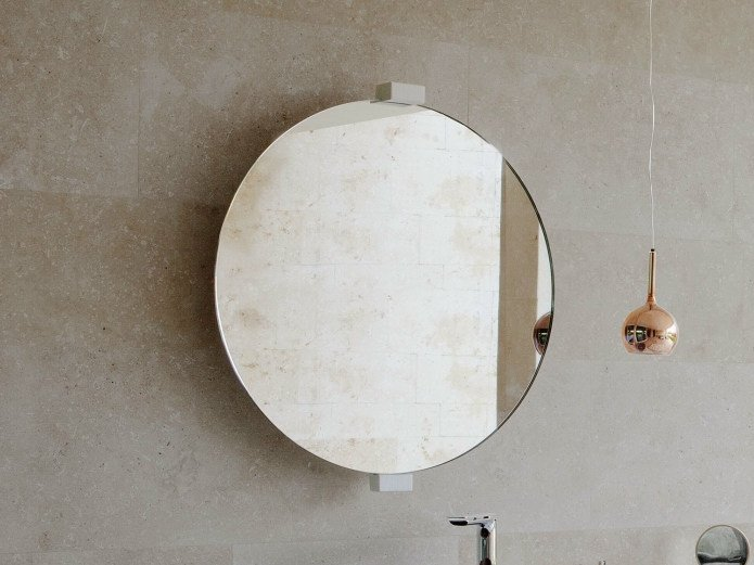 Round wall-mounted mirror EXPO | Mirror by Graff Europe West