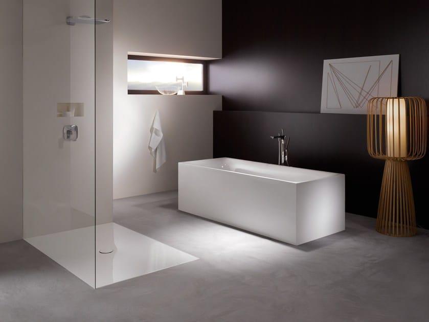 Rectangular enamelled steel bathtub BETTELUX SILHOUETTE by Bette