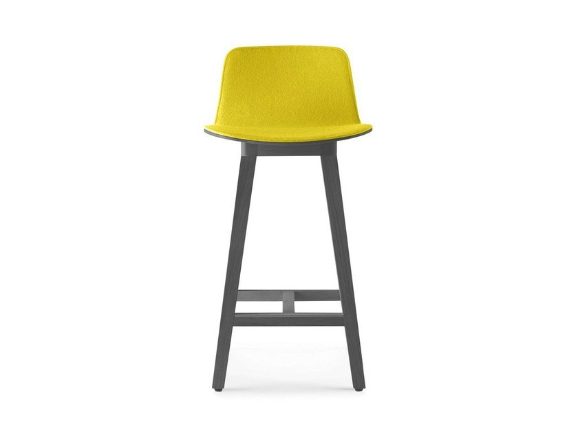 High fabric stool KUSKOA | Stool by ALKI