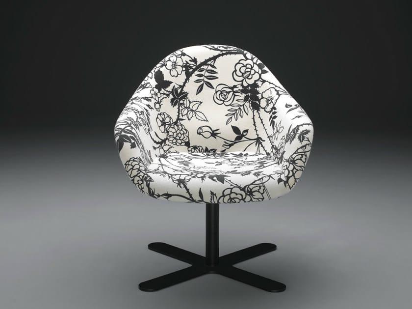 Swivel easy chair with 4-spoke base WYK | Swivel easy chair by mminterier
