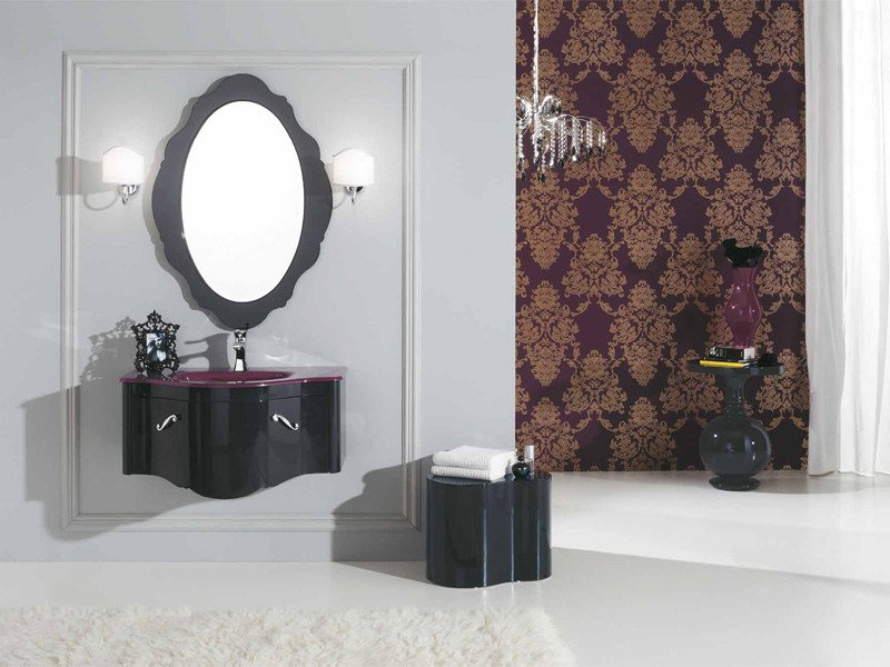 Attractive Wall Mounted Vanity Unit DECÒ D09 By LEGNOBAGNO Home Design Ideas