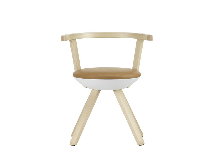 Contemporary style upholstered birch chair RIVAL KG001 by Artek