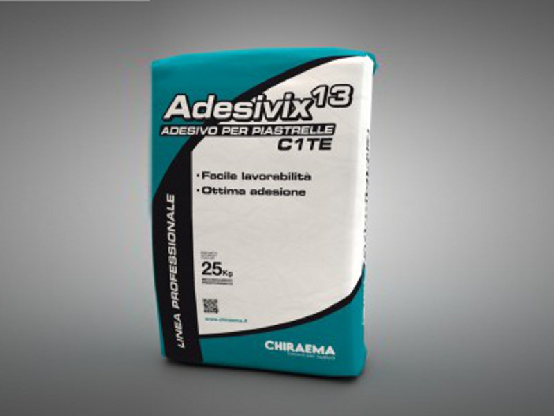 Cement adhesive for flooring ADESIVIX 13 by CHIRAEMA