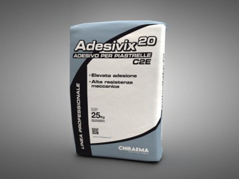 Cement adhesive for flooring ADESIVIX 20 by CHIRAEMA