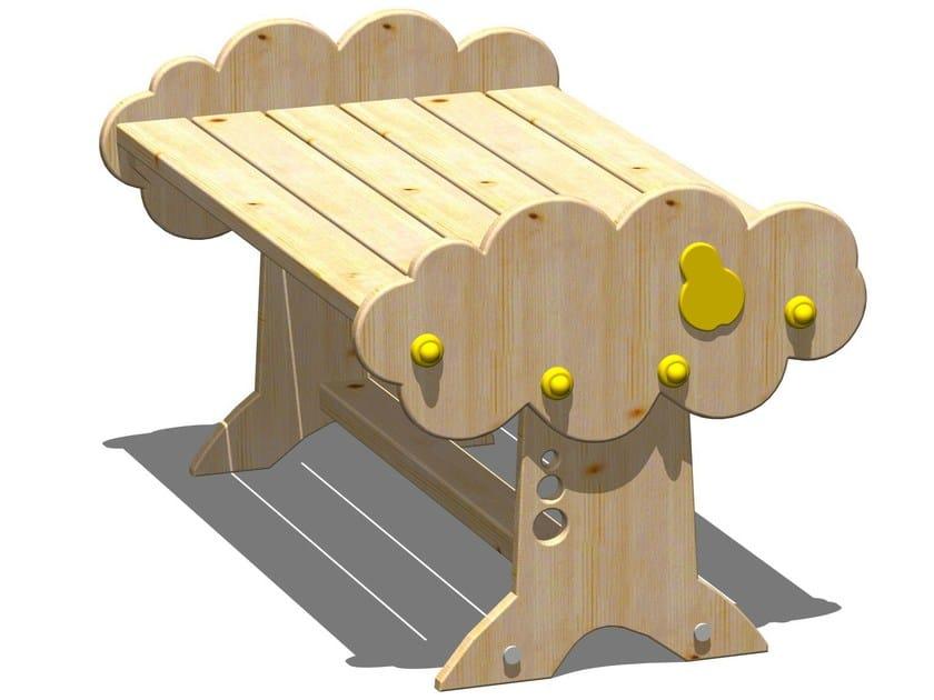 Rectangular wooden Kids table PERA   Rectangular Kids table by Legnolandia