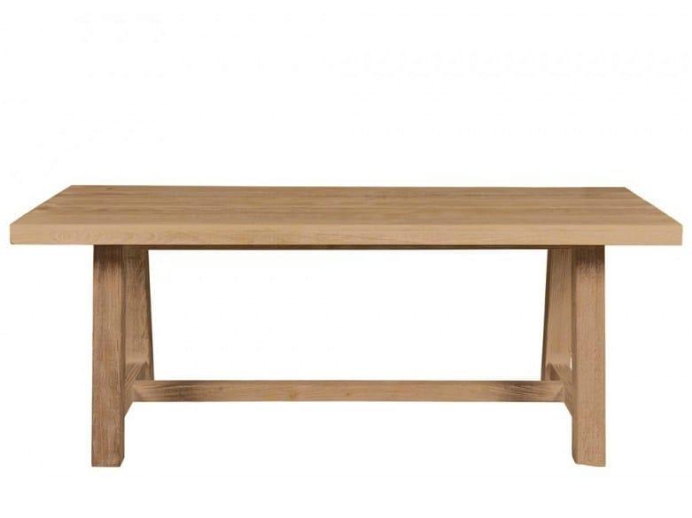 Rectangular teak garden table CORTINA | Garden table by Tectona
