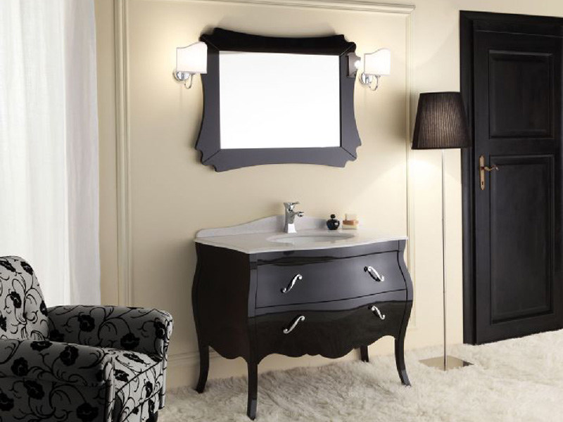 Wooden vanity unit with drawers VANITY 2 by LEGNOBAGNO