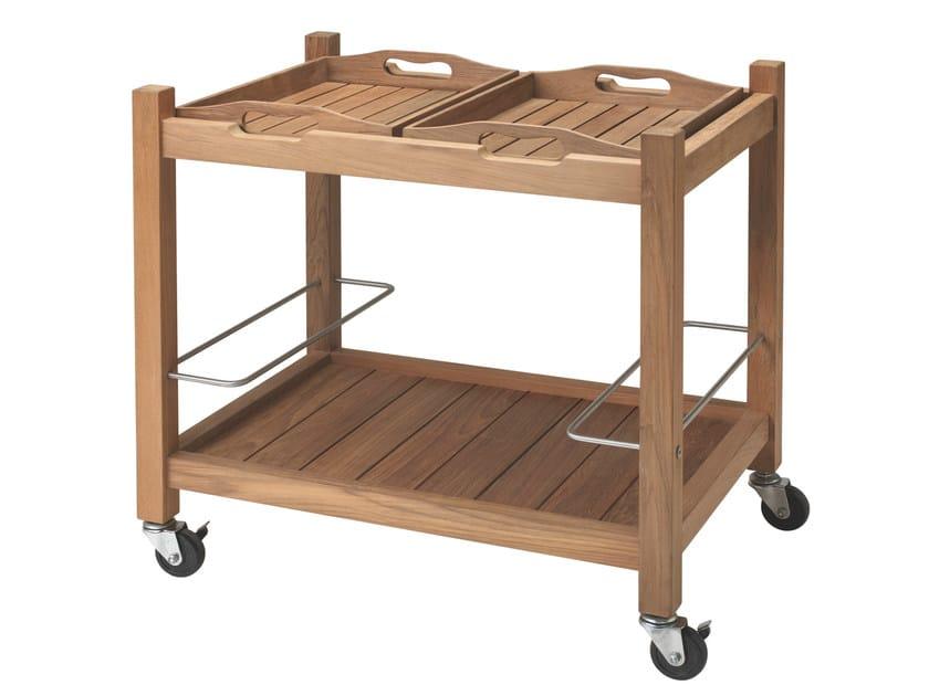Teak food trolley JEEVES by Tectona