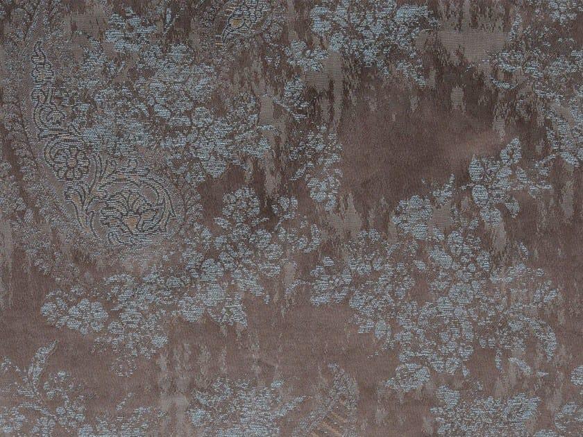 Damask cotton fabric AMY MEWS VERSO by KOHRO