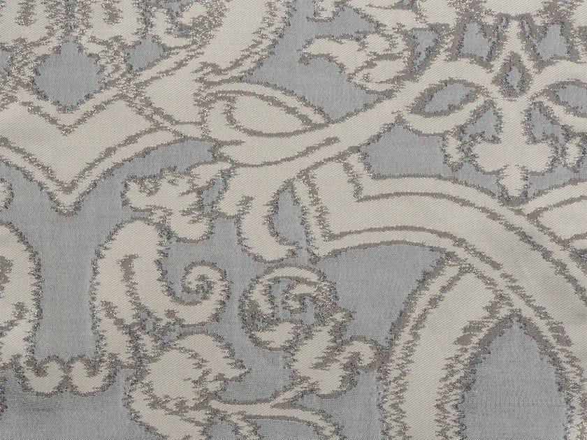 Damask cotton fabric TONGA SUITES VERSO by KOHRO