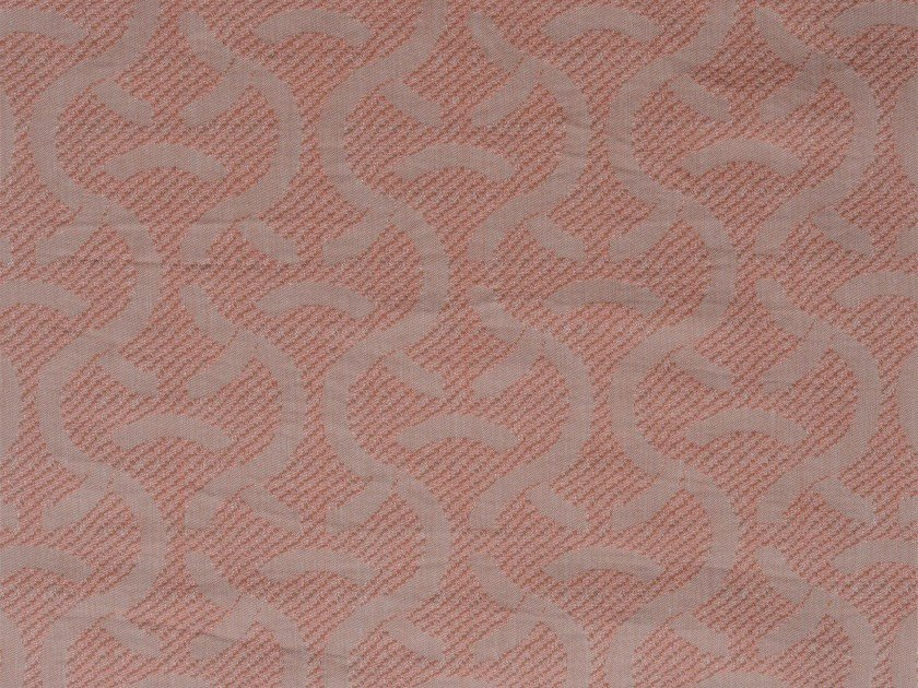 Damask cotton upholstery fabric SYLT RECTO by KOHRO