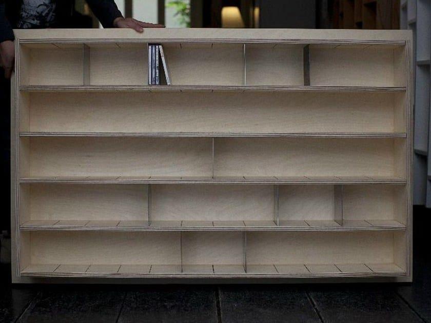 tag re pour cd sur mesure en bois multi niveau etag re cd inox by malherbe edition. Black Bedroom Furniture Sets. Home Design Ideas