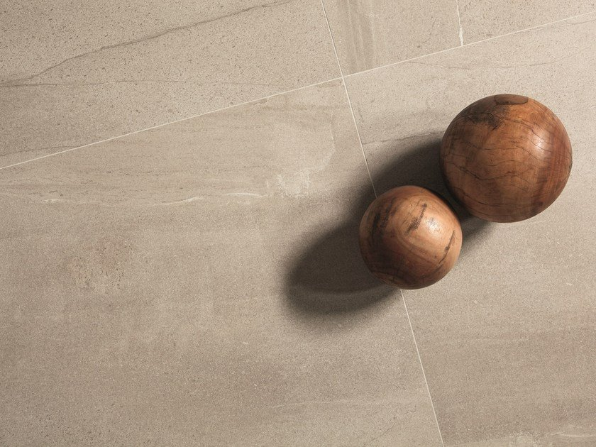 Flooring with stone effect BASALTINA SAND by ARIOSTEA