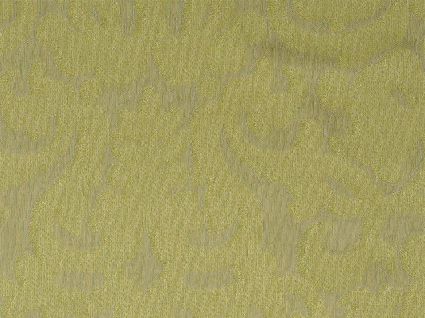 Damask cotton upholstery fabric CHISWICK VERSO by KOHRO