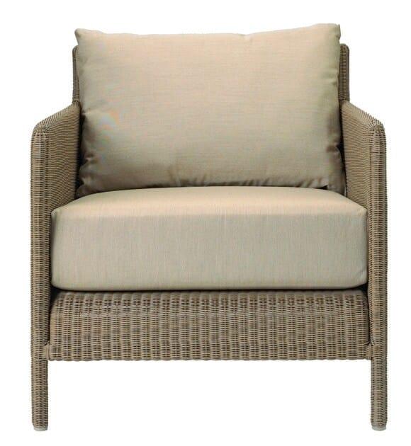 Resin garden armchair with armrests SHANGHAI | Garden armchair by Tectona