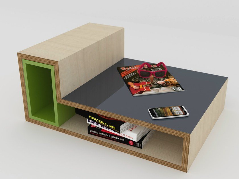 Rectangular coffee table MÉLI-MÉLO | Coffee table by MALHERBE EDITION