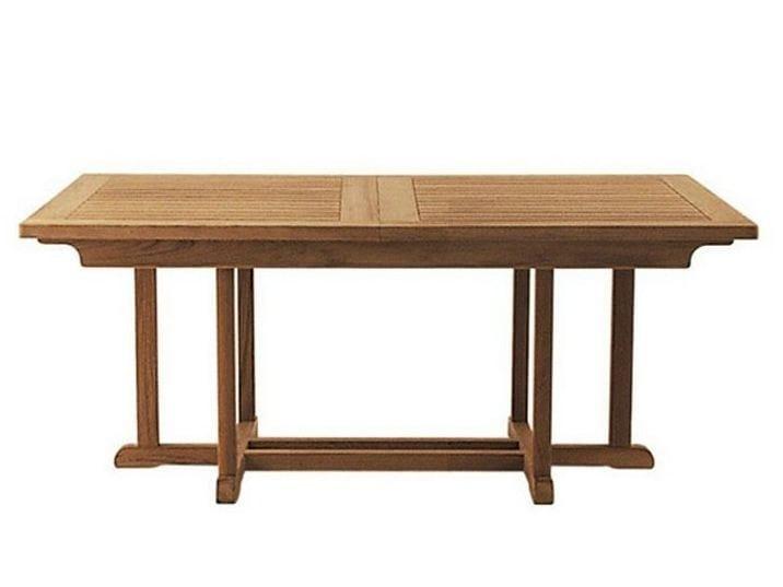 Rectangular teak garden table ARLINGTON | Rectangular table by Tectona