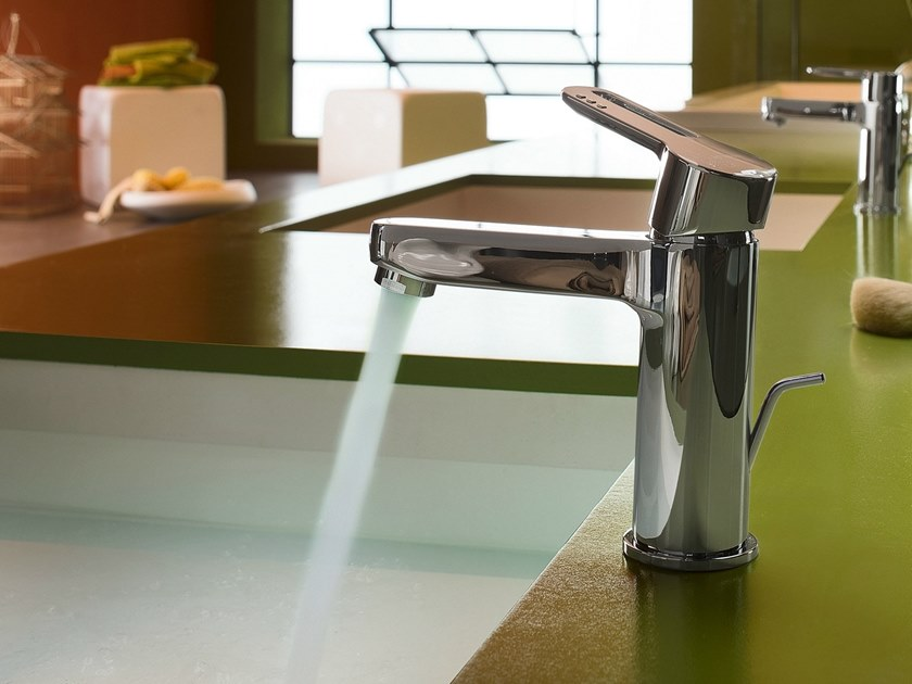 Countertop single handle washbasin mixer NEW ROAD | Washbasin mixer by Nobili Rubinetterie