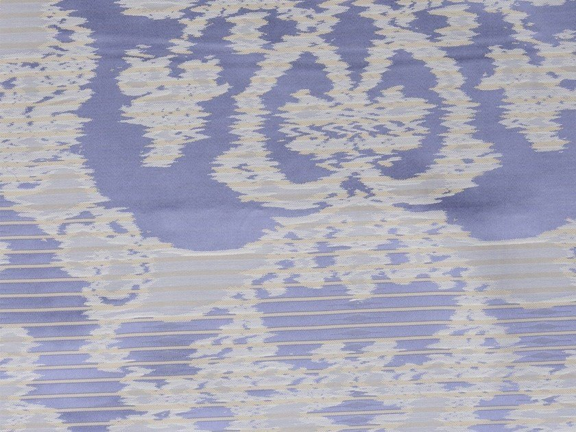 Damask washable cotton fabric HELSINGOR by KOHRO
