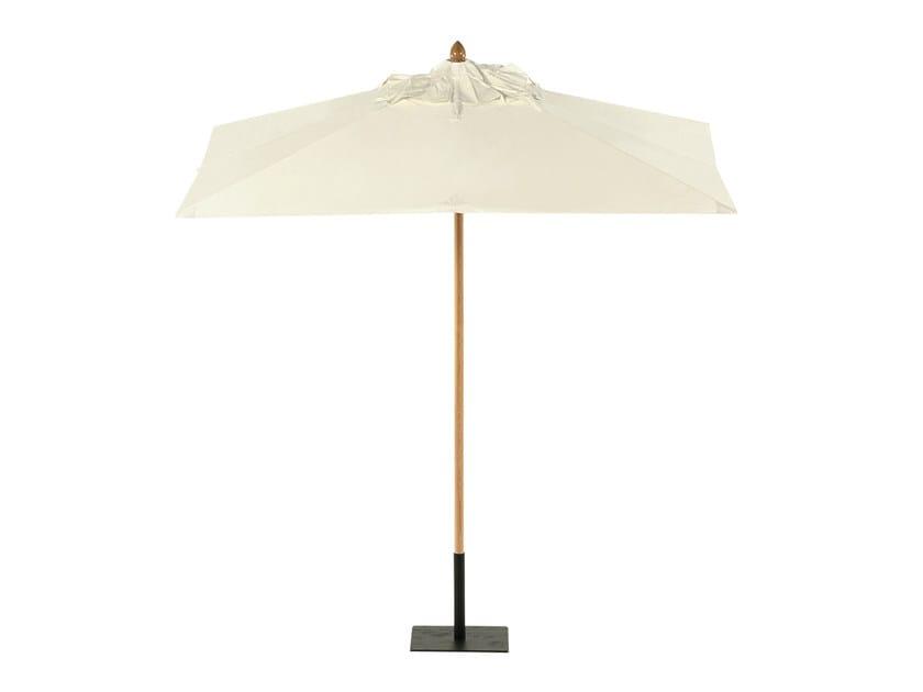 Square Garden umbrella COTTON CANVAS | Square Garden umbrella by Tectona