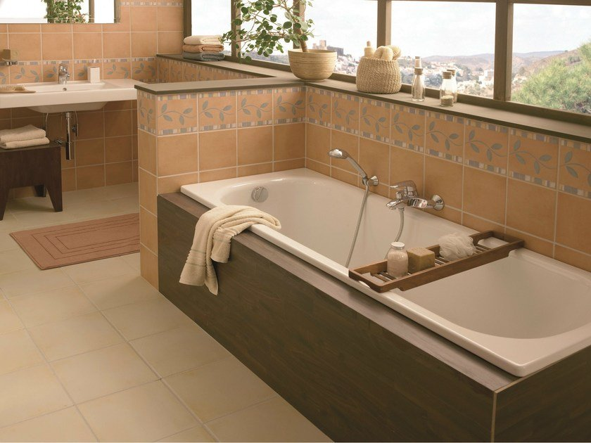 Rectangular built-in bathtub BETTECLASSIC by Bette