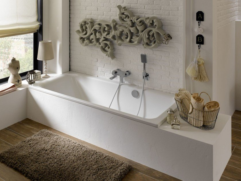 Built-in enamelled steel bathtub BETTESELECT by Bette