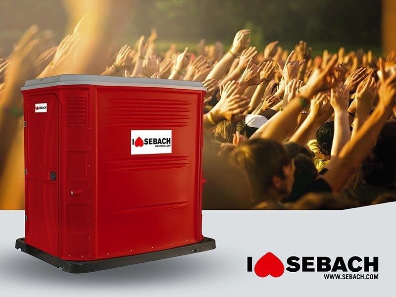 Portable WC PBlock Maxi by sebach