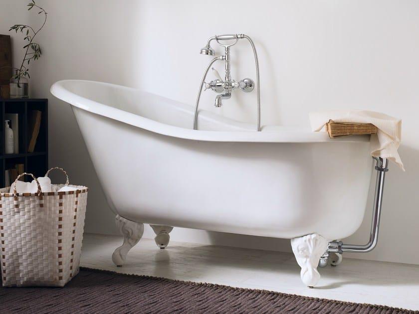 Wall-mounted chrome-plated bathtub tap RITZ | Bathtub tap by Nobili Rubinetterie