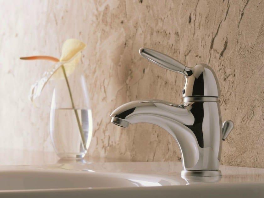 Chrome-plated single handle washbasin mixer UNIKO | Washbasin mixer by Nobili Rubinetterie