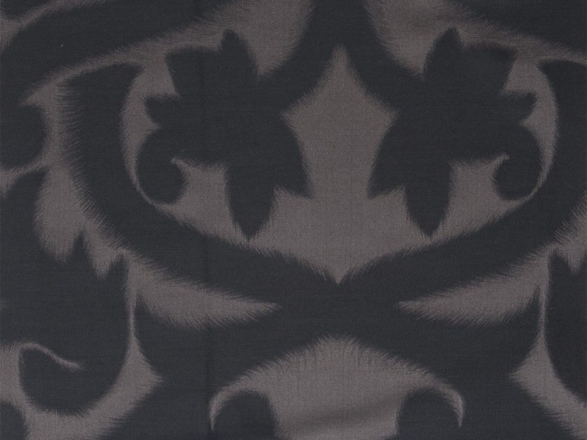 Damask washable fabric FLEUR DE PLUME by KOHRO