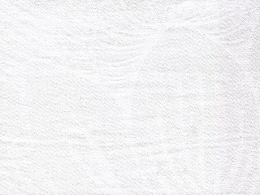 Jacquard washable linen fabric LUBERON by KOHRO