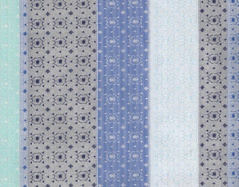 Jacquard washable cotton fabric LILLEHAMMER by KOHRO