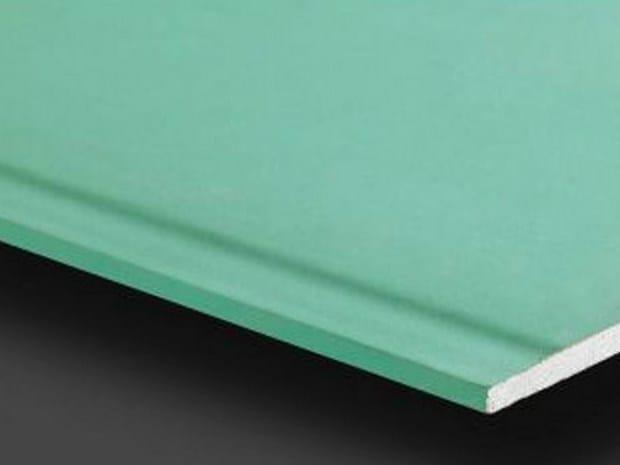 Moisture resistant gypsum ceiling tiles Pregydro H2 BA13 by Siniat