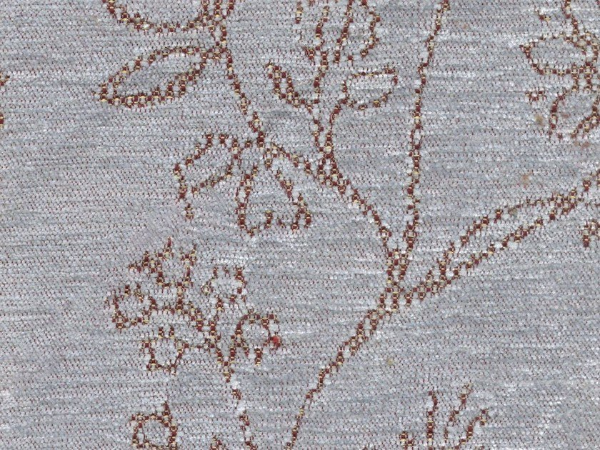 Washable fabric with floral pattern BETH by KOHRO