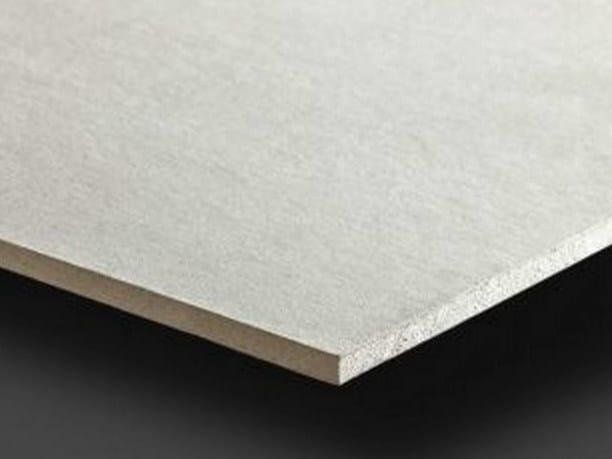 Fireproof plasterboard ceiling tiles PregyFeu A1 BA15 by Siniat