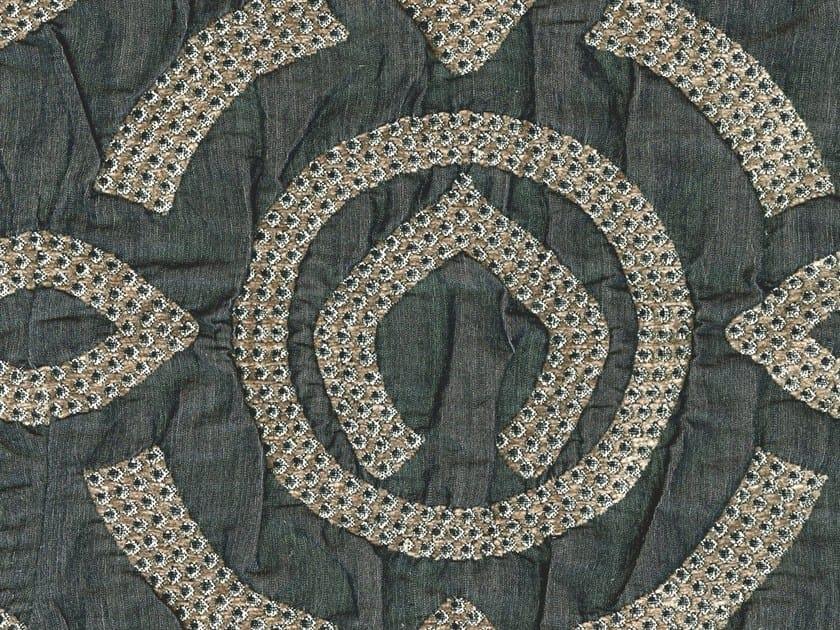 Jacquard washable pique fabric KALMUK ROUGH by KOHRO