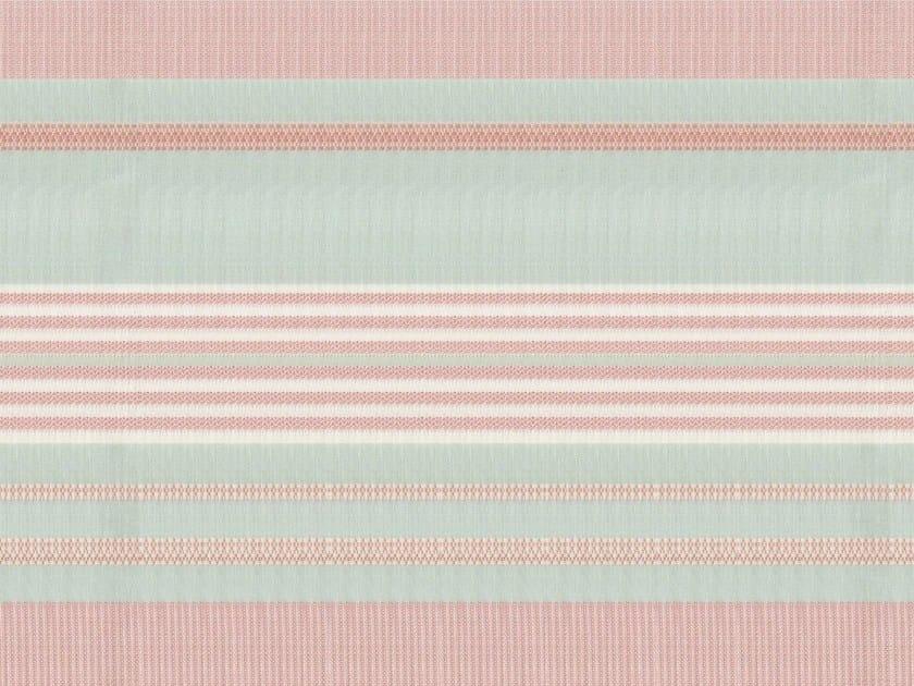 Striped washable cotton fabric SORBETTO by KOHRO