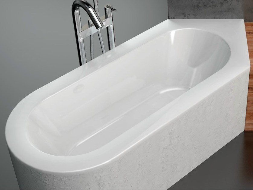 Built-in enamelled steel bathtub BETTESTARLET III by Bette