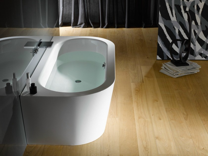 Enamelled steel bathtub BETTESTARLET I SILHOUETTE by Bette